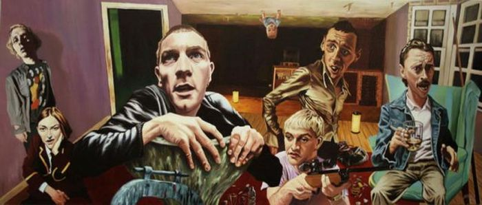 Movie Paintings by Justin Reed (17 pics)