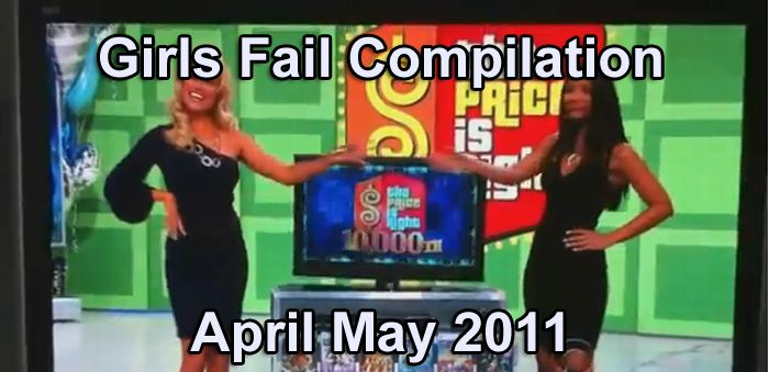 Girls Fail Compilation April May 2011 (video)