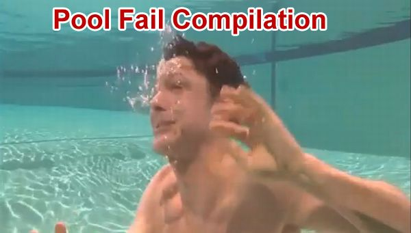 Pool Fail Compilation (video)