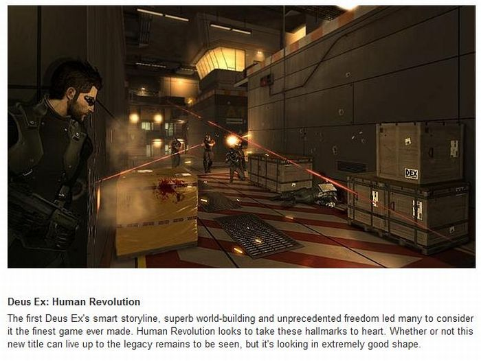 E3 2011: The 20 Most Anticipated Games (20 pics)