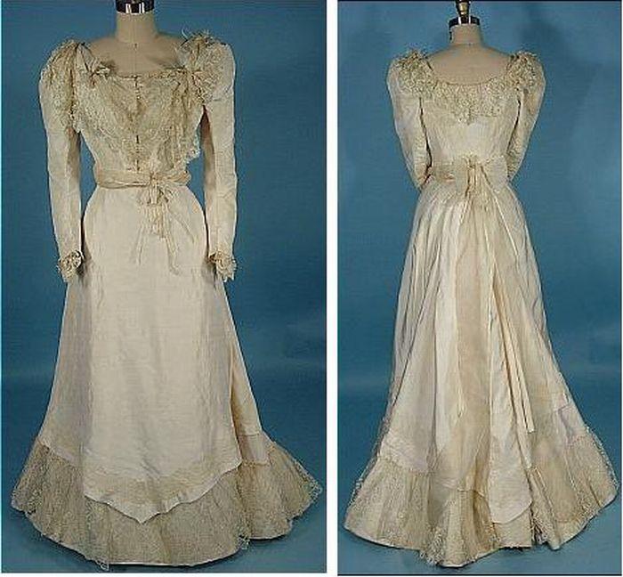 The Evolution Of Wedding Dress 1870
