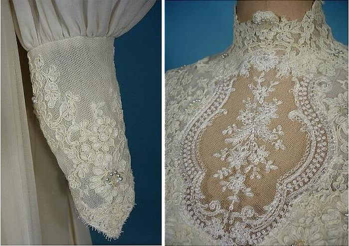 The Evolution of Wedding Dress 1870 - 1980 (39 pics)