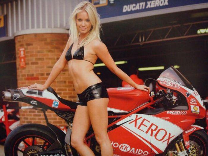 Ducati Girls (92 pics)