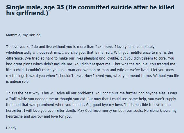 Suicide Notes (22 pics)
