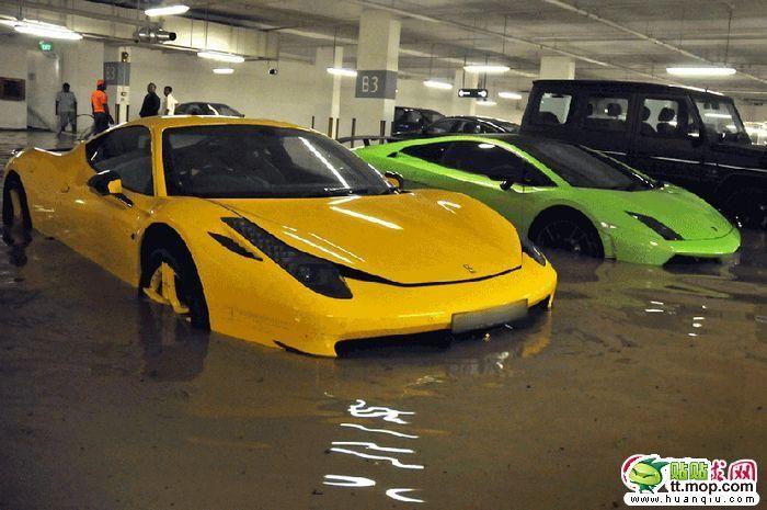 Sunken Supercars 8 Pics