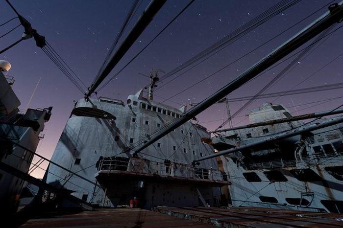Barcos Abandonados de la Segunda Guerra Mundial