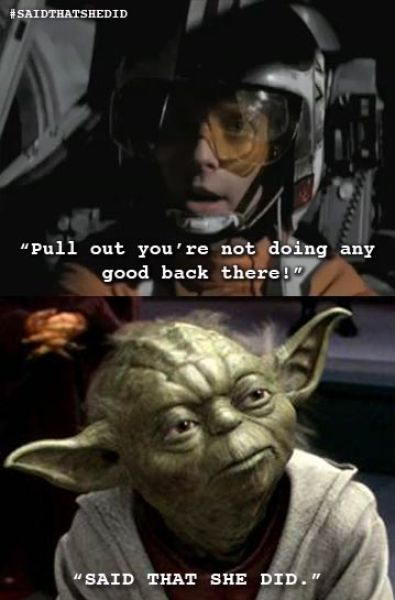 "Yoda Tumblr ""Said That She Did"" (22 pics)"