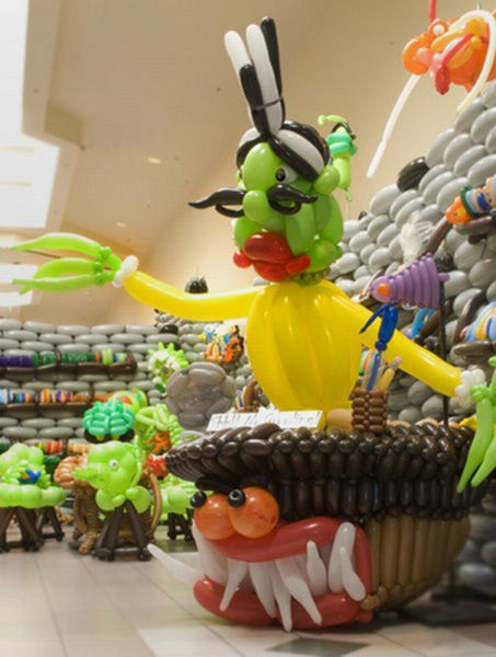 Balloon Sculptures (25 pics)