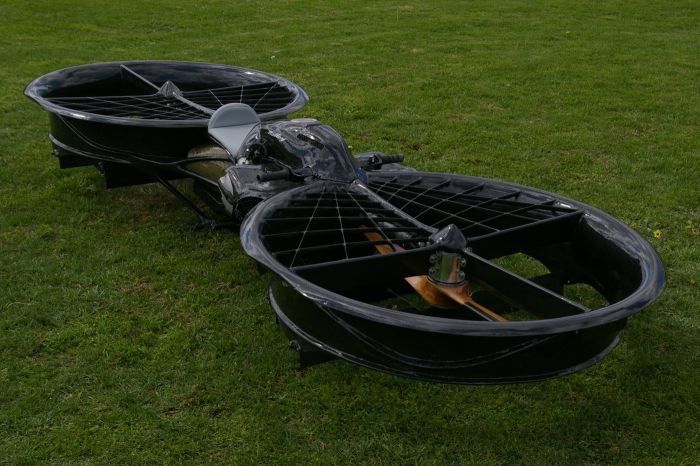Twin Rotor Hoverbike (14 pics)