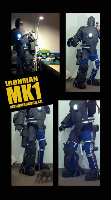Iron Man Mark I Costume (62 pics + video)
