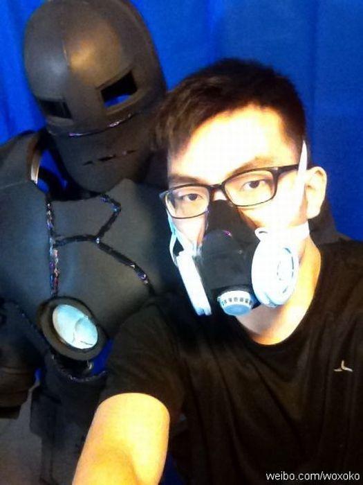 Iron Man Mark I Costume (62 pics + video)