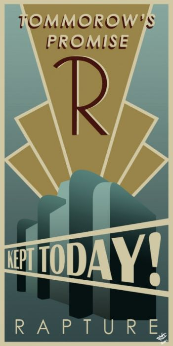 A Gallery of Recreated Rapture Posters (41 pics)
