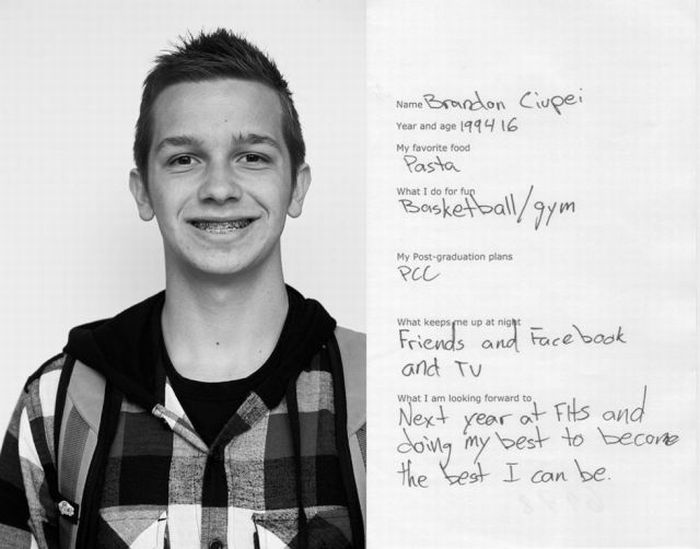 The Hopes and Dreams of Oregon High School Kids (30 pics)