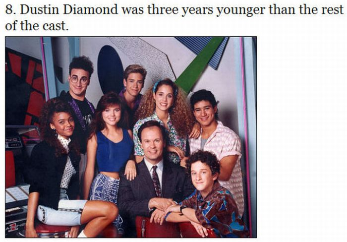 "Things You Probably Didn't Know About ""Saved by the Bell"" (13 pics)"