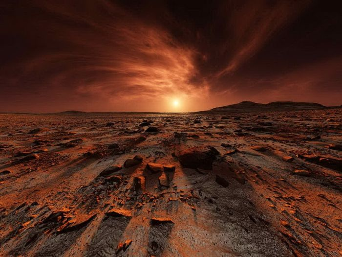 Pictures of Mars (47 pics)