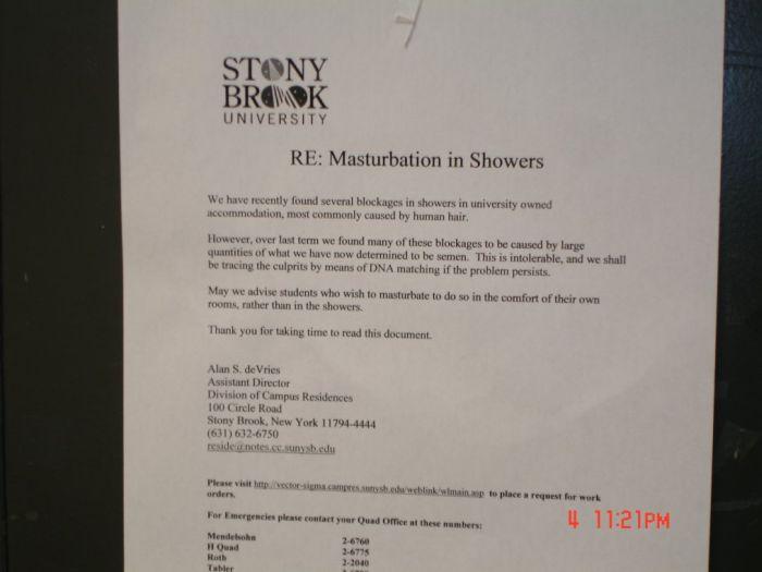 Stop Masturbating In The Showers (13 pics)