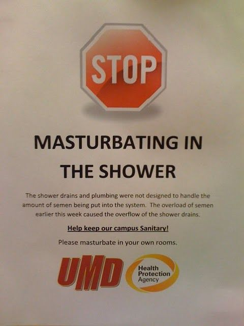 Stop Masturbating In The Showers (13 pics)