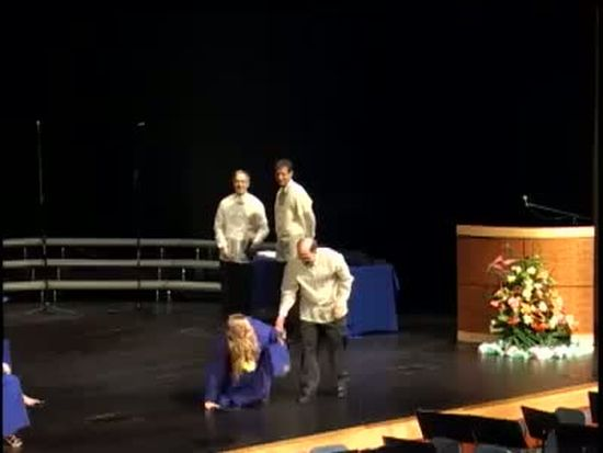 Graduation Dance Fail