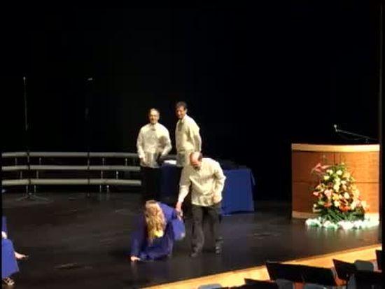 Graduation Dance Fail