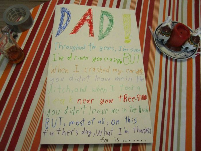 Hilarious Father's Day Card (2 pics)