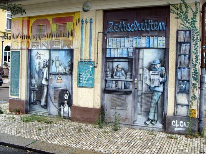 Awesome Graffiti Art (20 pics)