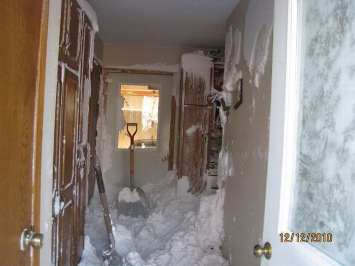 Last Winter in Iowa (4 pics)