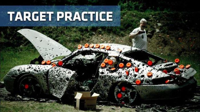 How to Destroy Porsche 911 (16 pics)
