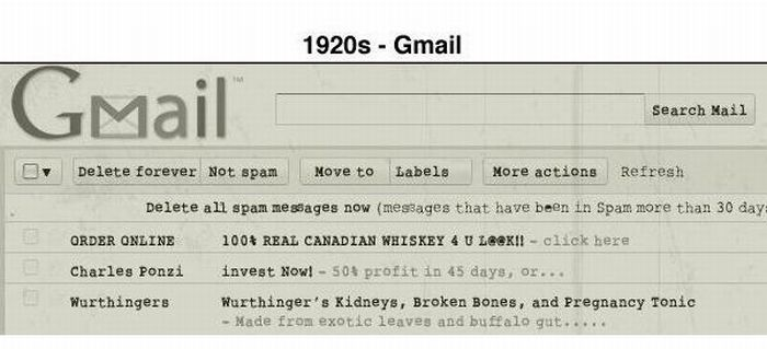 If Internet Existed Years Ago (8 pics)