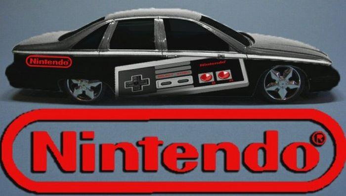 Super Mario Fan Creates Geeky Nintendo-mobile (9 pics)