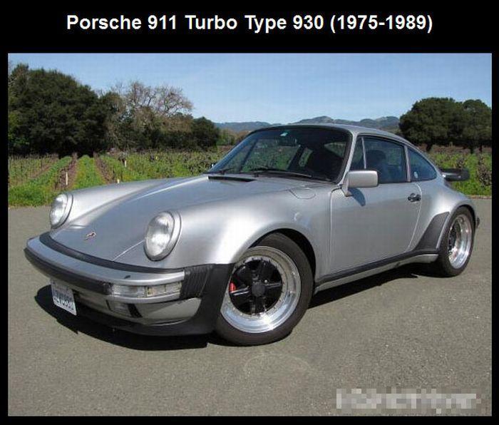 The Evolution of Porsche 911 (11 pics)