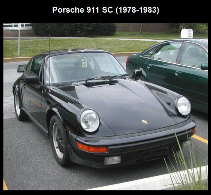 The Evolution of Porsche 911 (11 pics)