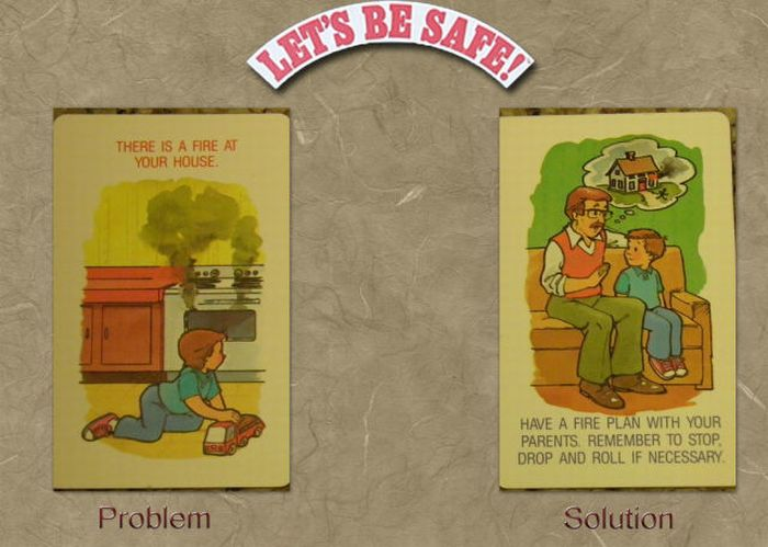 A Safety Game for Kids from the 80's (28 pics)