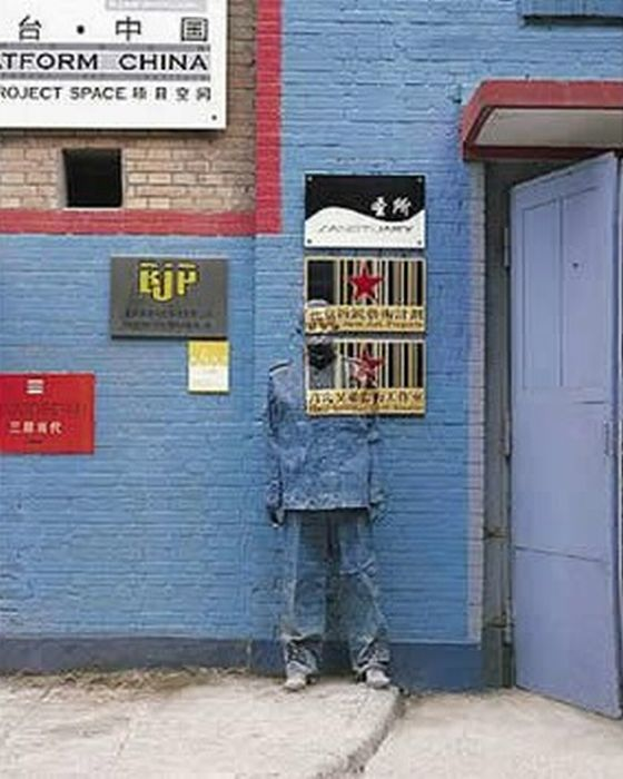 Awesome Invisible Art By Liu Bolin (61 pics)
