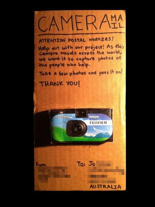 Cameramail (20 pics)