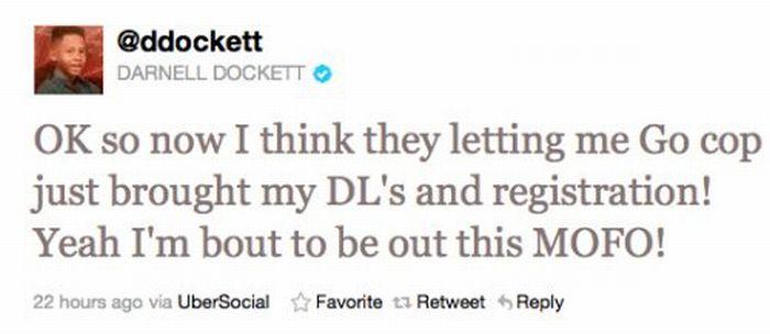 Darnell Dockett vs Police (11 pics)