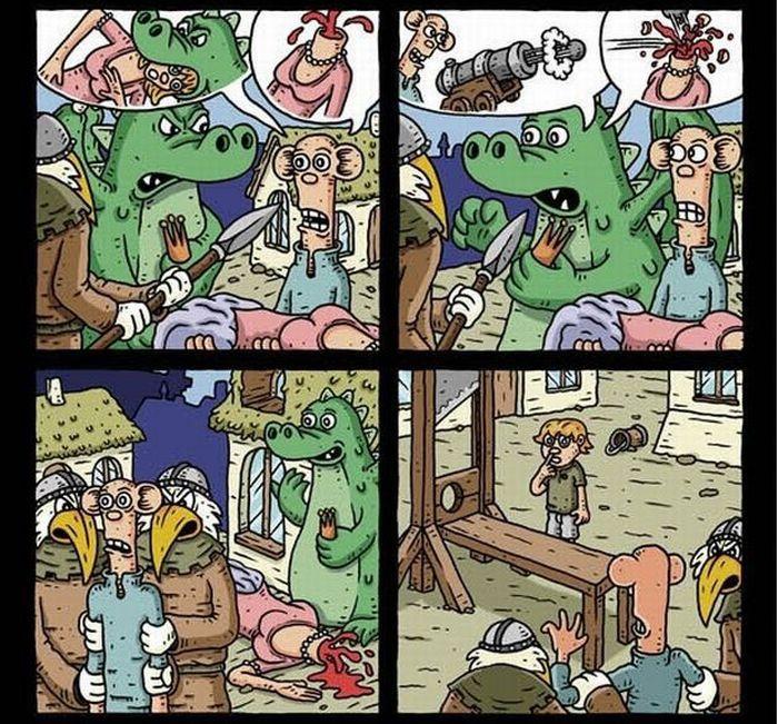 Crazy comics (14 pics)