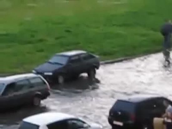 Epic Flooded Street Win