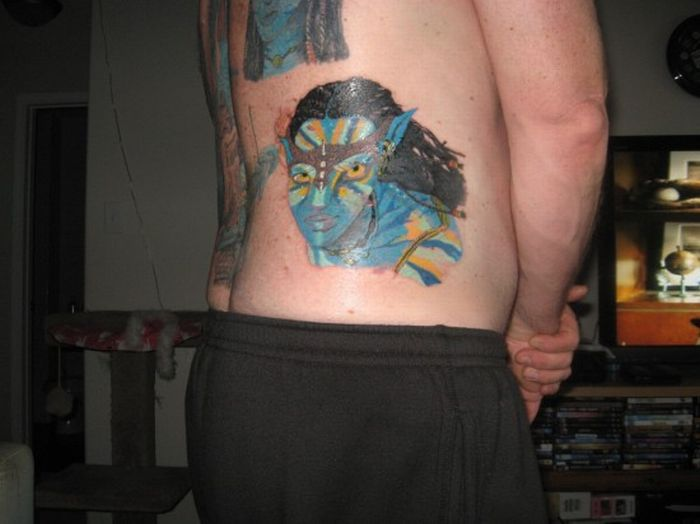 The World's Biggest Neytiri Fan (7 pics)