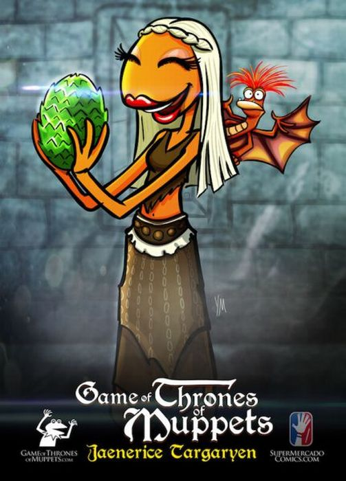Muppets as Game of Throne Characters (9 pics)