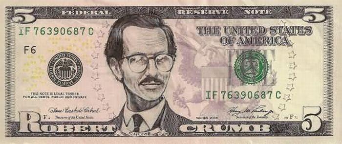 Funny $5 Dollar Bill Defaces (31 pics)