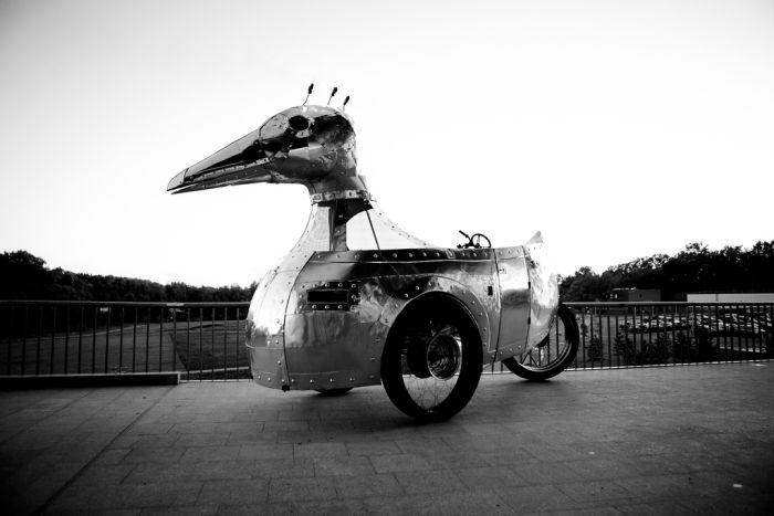 Giant Steampunk Duck (29 pics)