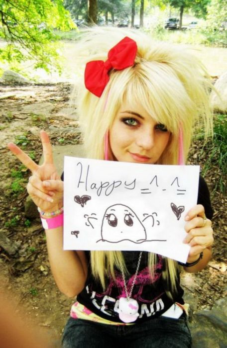 Cute Emo Girls 120 Pics-6284
