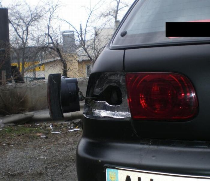 How to Hide Gasoline Tank (4 pics + video)