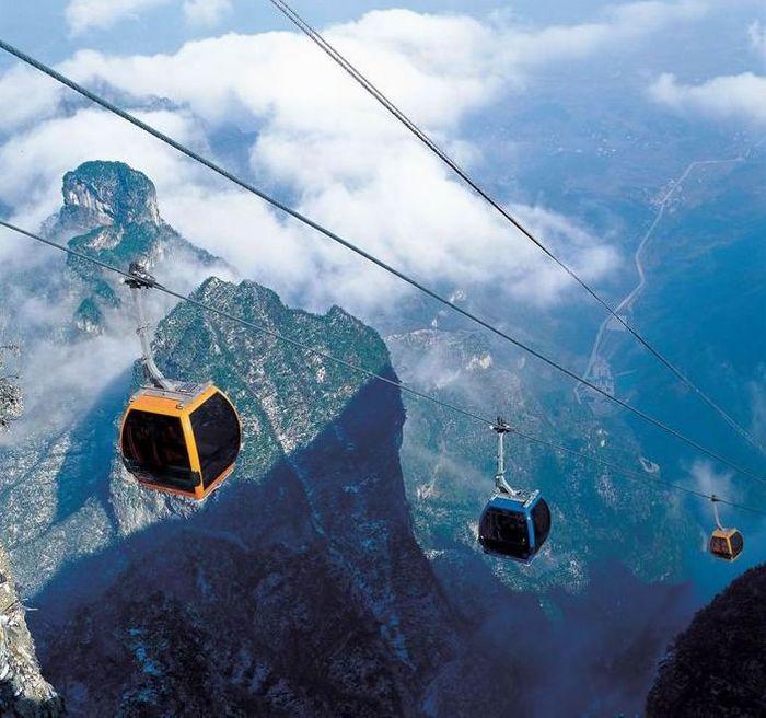 Aerial Cableway (25 pics)