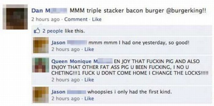 Embarrassing Facebook Breakups (17 pics)