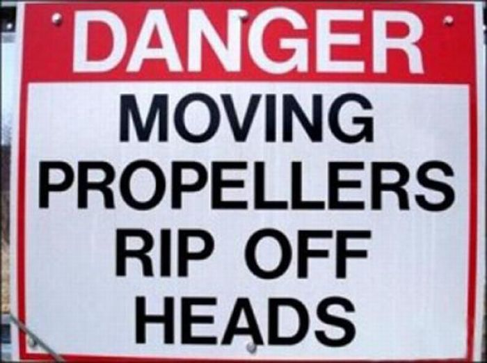 Funny Warning Signs (20 pics)