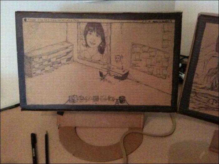 Cardboard Furniture (16 pics)