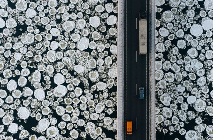 Winter from Above (38 pics)