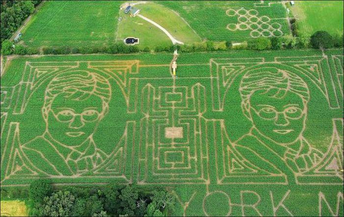 Gigantic Corn Mazes (5 pics)