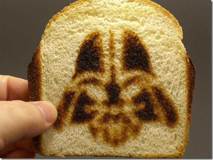 Star Wars Toast (10 pics)